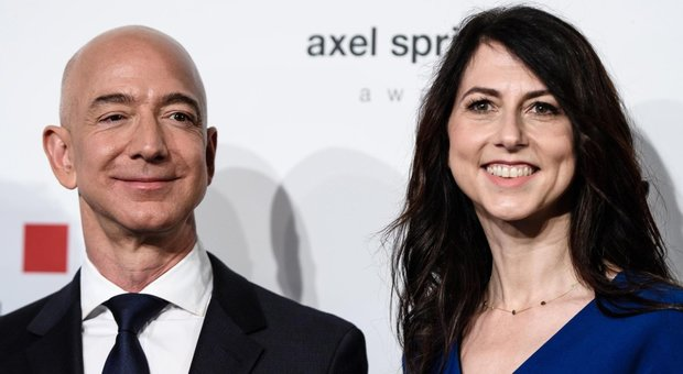 Bezos, 36 miliardi di dollari alla ex moglie: è il divorzio più costoso della storia