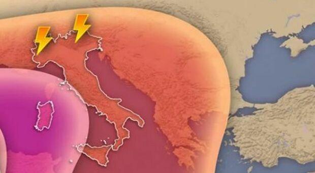 Meteo, caldo agli sgoccioli: allerta temporali in Lombardia, Piemonte, Veneto e Friuli