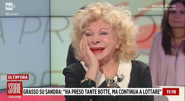 Sandra Milo a Storie Italiane: «Avevo pensato di uccidermi, ma non mi sono arresa»