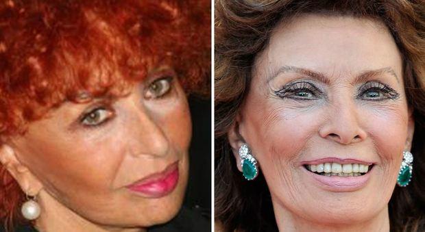Matrimonio Romano Mussolini E Maria Scicolone : Maria scicolone confessa «mia sorella sophia loren ha