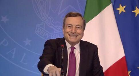 PNRR, Draghi: motivo di orgoglio per l'Italia, Paese credibile e affidabile