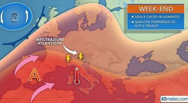 Meteo, torna il caldo africano: temperature a 40 gradi con l'aria rovente in arrivo dai deserti