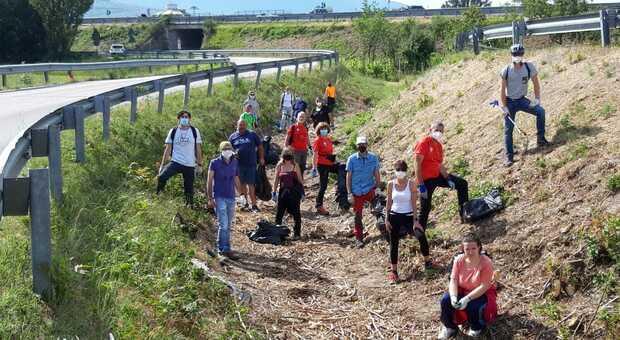 """Foligno, Valle Umbra Trekking lancia """"EcologiAmo"""" per dichiarare guerra ai rifiuti abbandonati"""