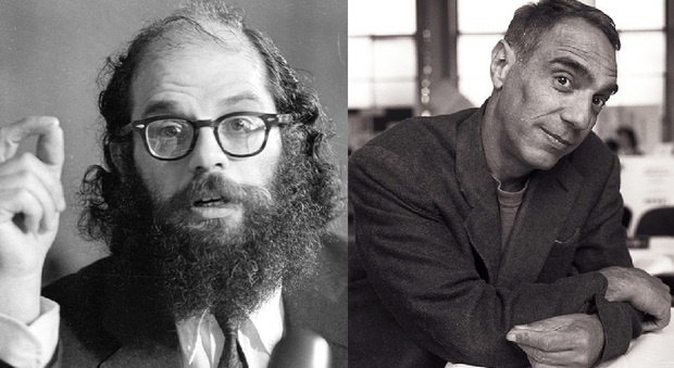 Allen Ginsberg e Derek Jarman protagonisti della Beat Generation e del romanzo Prometeo Beat (ediz. Moretti & Vitali) di Fabrizio Petri