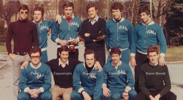 Nanni Moretti e il passato nella pallanuoto: «In Nazionale nel '70, quante botte con i tedeschi»