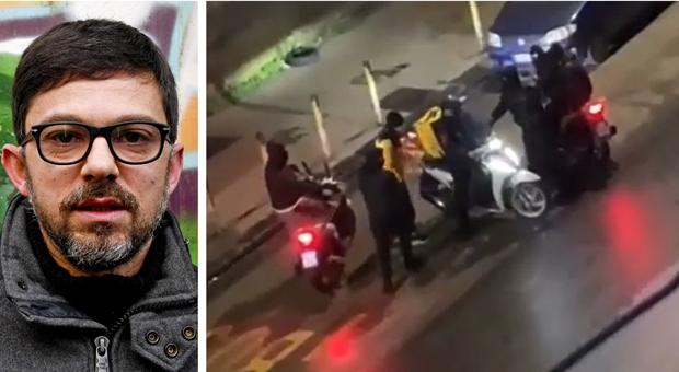 Rider aggredito a Napoli, gara di solidarietà per una raccolta fondi. De Magistris: «Pagina indegna»