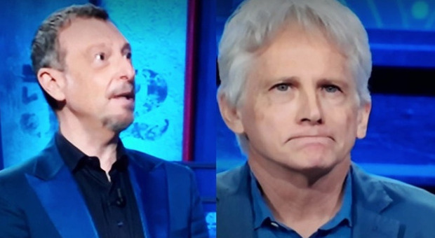 I soliti ignoti, Giulio Scarpati da Amadeus, un dettaglio del parente misterioso fa infuriare i fan: «Vergogna»