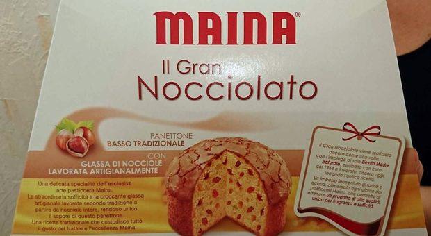 Panettone Maina ritirato da supermercati Esselunga