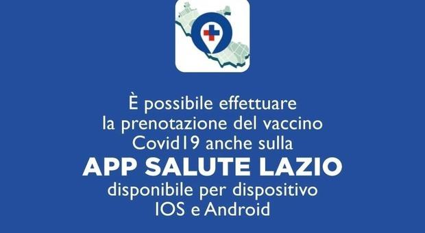 Vaccini, D'Amato: «Prime mille prenotazioni attraverso l'app Salute Lazio». Come funziona