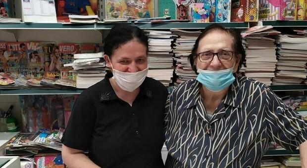 Maddalena Amiti (a destra) foto da Il Cittadino