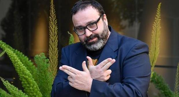 Il regista e attore Massimiliano Bruno