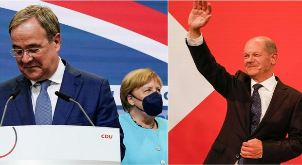 Germania, Spd in vantaggio sulla Cdu in caduta libera: Scholz in testa ma per il governo strada in salita