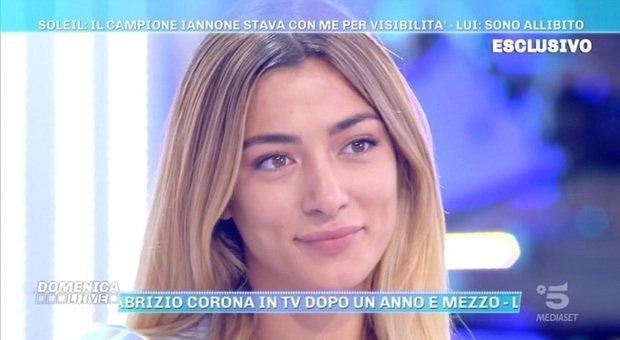Soleil Sorgè, la verità sul sua liason con Iannone a Domenica Live: «Nessun flirt, lui però...». Barbara d'Urso la spiazza