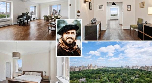 immagine In vendita l'attico che fu di Pavarotti a New York