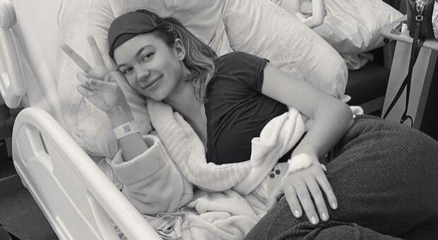 Erin Willerton ricoverata d'urgenza
