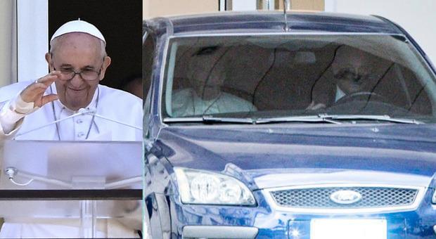 Papa Francesco dimesso dall'ospedale: ha lasciato il Gemelli in auto