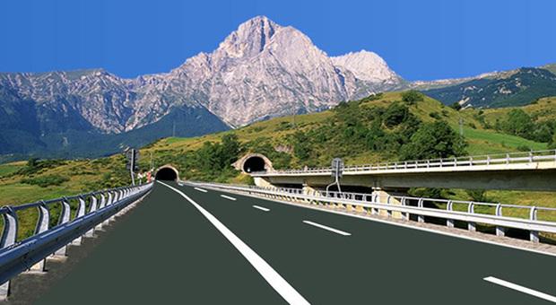 Autostrada dei Parchi, a maggio la chiusura del tunnel del Gran Sasso