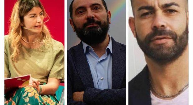 Emma Taveri, Francesco Peluso e Gianluca Togna