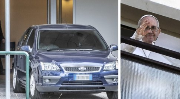 Papa Francesco esce dall'ospedale e anticipa i tempi, la convalescenza continuerà in Vaticano