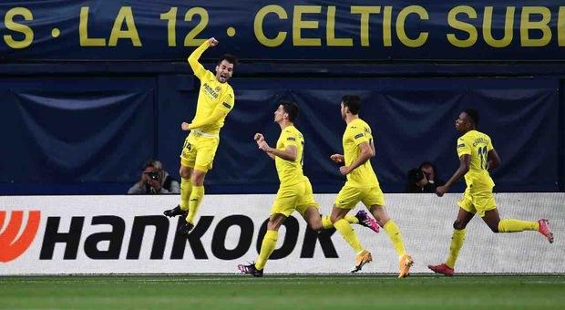Il Villarreal domina un tempo, ma spreca troppo. L'Arsenal resta a galla