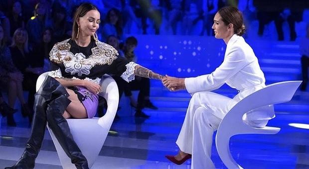 Abito Nina Moric a Verissimo che stilista e look ha scelto?