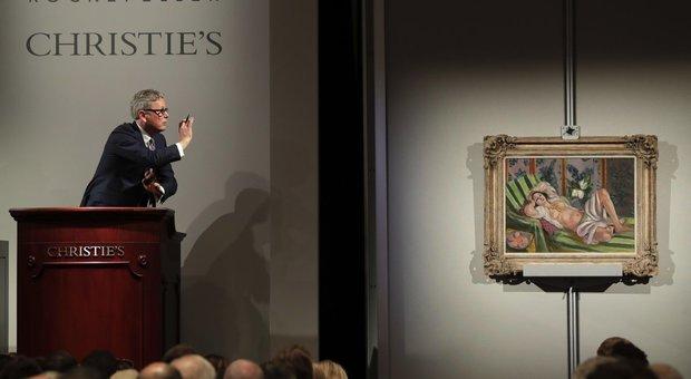 """Matisse e Monet conquistano nuovi record all'asta di Rockfeller: """"Nymphéas en fleur"""" venduto a oltre 84 milioni di dollari"""