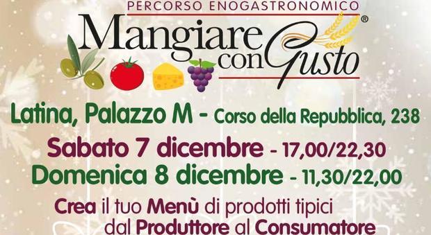 """Latina, torna """"Mangiare con gusto"""", eccellenze enogastronomiche a Palazzo M - Il Messaggero"""