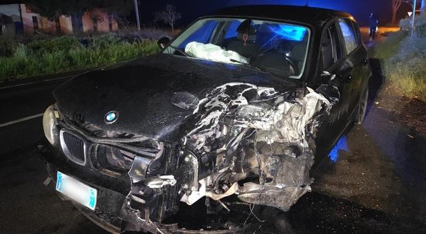 Montalto: frontale sulla Castrense, tre feriti