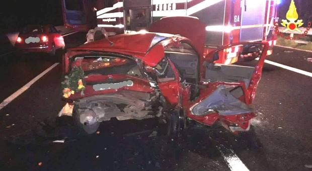 Incidente sulla Roma-Napoli all'altezza di Valmontone: un morto e tre feriti