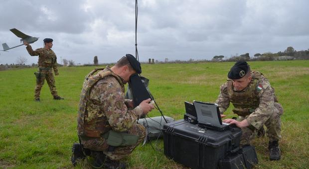 Terra dei fuochi, nel Casertano controlli dell'Esercito con il drone
