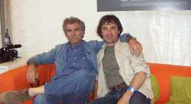 Claudio Capone con Mario Riga