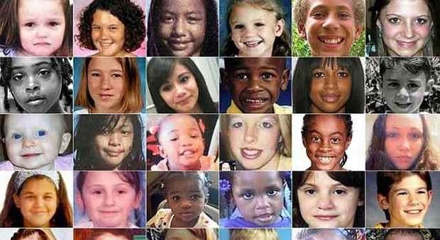 USA, ritrovati vivi 123 bambini rapiti: erano destinati al mercato degli sfruttatori
