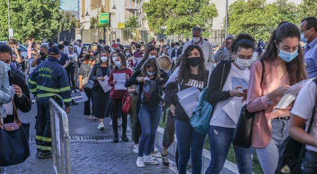 Covid, test per Medicina e chirurgia. Alla Sapienza 519 candidati in più rispetto al 2019, obbligo mascherina e quasi 200 vigilantes