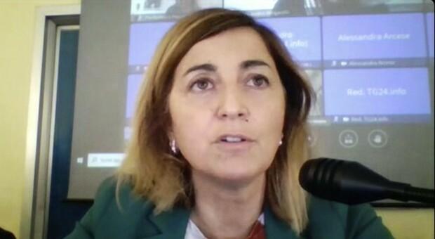 Il direttore generale della Asl di Frosinone, Pierpaola D'Alessandro