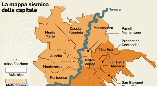 Terremoto, Ciociaria a rischio. Il presidente dell'Ingv: «Roma è più vulnerabile»