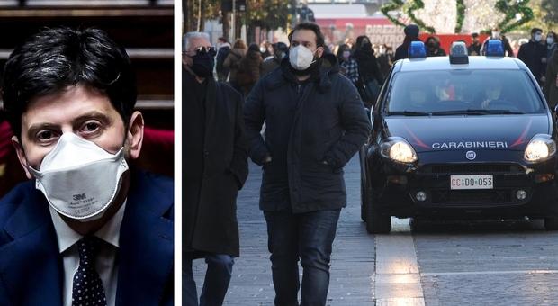 Covid, il ministro Speranza: «Contro il virus restrizioni ancora per qualche mese»