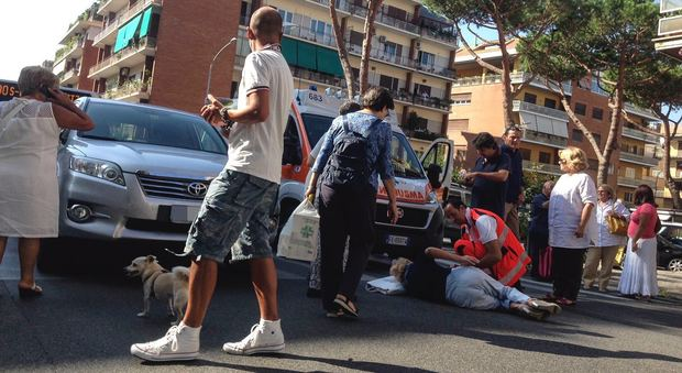 Roma, donna investita sulle strisce alla Balduina: è grave