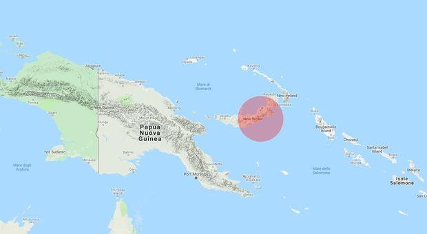 Due forti scosse in Papua Nuova Guinea