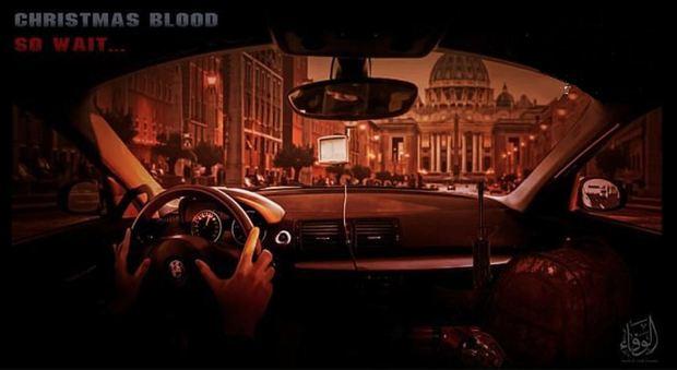 Un manifesto terroristico minaccia il Natale in Vaticano