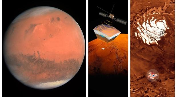 Marte, acqua sotto il Polo Sud: trovati altri laghi, nuove conferme alla ricerca italiana a caccia di forme di vita