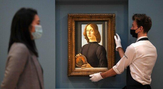 Botticelli, venduto a New York per 92 milioni di dollari quadro di un membro della famiglia Medici