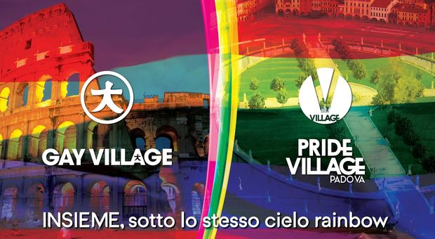 Gay Village e Padova Pride Village uniti in un gemellaggio