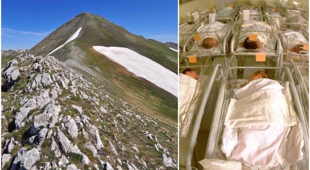 Equinozio delle cicogne, il pediatra: «Chi vuole un figlio vada in montagna». Ecco perché
