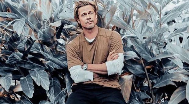 Brad Pitt su Instagram