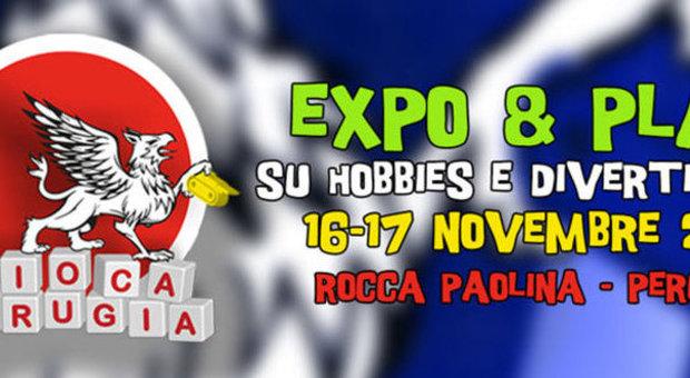 Giocaperugia2013 al via il festival degli hobbies e dei for Tavolo degli hobby
