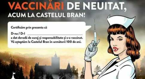 Vaccini, al Castello di Dracula in Transilvania Pfizer gratis (e una mostra sulla tortura in omaggio)