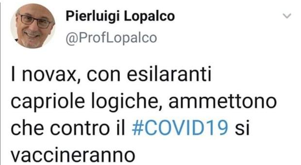 Coronavirus, l'infettivologo Lopalco sfotte i No-Vax: ora si vogliono tutti vaccinare contro il Covid19