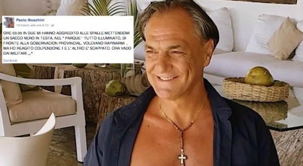 Paolo Moschini e l'ultimo post su Facebook