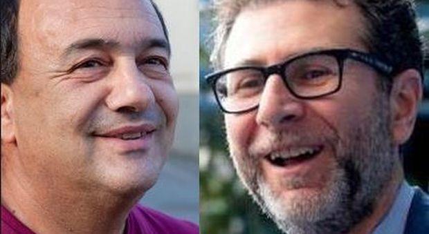 Il sindaco di Riace da Fazio, insorge la Lega: «La Rai divulga modelli distorti». Il Pd: «Questa è censura»