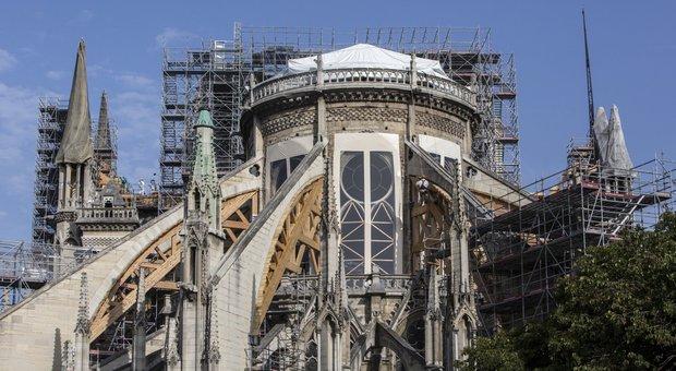 Il cantiere di Notre-Dame
